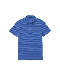 Polo Ralph Lauren | Blue Featherweight Striped Polo | Lyst