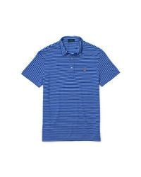 Polo Ralph Lauren - Blue Featherweight Striped Polo - Lyst