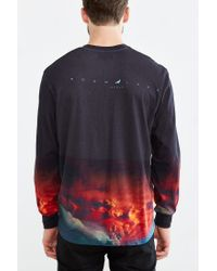 Staple | Red Nuclear Pigeon Long-sleeve Tee for Men | Lyst