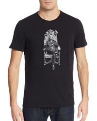 John Varvatos | Black Ringo Starr Graphic Tee for Men | Lyst