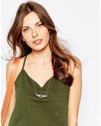 ALDO - Metallic Sarrail Necklace - Lyst