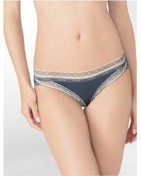 Calvin Klein - Gray Underwear Sexy Signature Bikini - Lyst