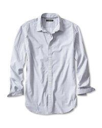 Banana Republic | Gray Slim-fit Custom 078 Wash Micro-gingham Shirt for Men | Lyst