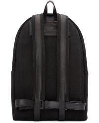 Ann Demeulemeester - Black Canvas Backpack for Men - Lyst
