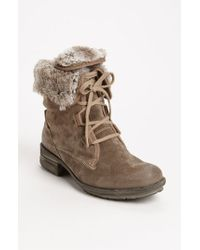 Josef Seibel - Brown Sandra 04 Suede Ankle Boots - Lyst