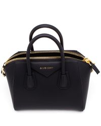 Givenchy | Black Leather Tote | Lyst
