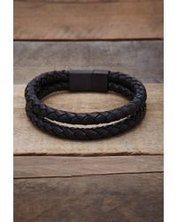 Forever 21 - Black Vitaly Dubbel Bracelet for Men - Lyst