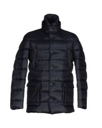 Herno | Blue Down Jacket for Men | Lyst