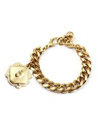 Lulu Frost | Metallic Victorian Plaza Charm Number Bracelet #5 | Lyst