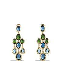David Yurman | Blue Dy Signature Collection Chandelier Earrings | Lyst