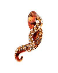 Mary Katrantzou | Octafish Earrings Red | Lyst