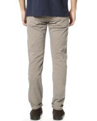 Citizens of Humanity - Gray Bowery Pure Slim Twill Jeans for Men - Lyst