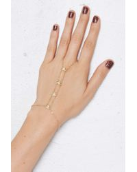 Nasty Gal | Metallic Straight Arrow Hand Piece | Lyst