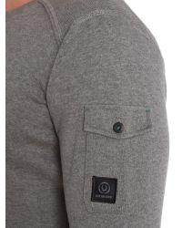 Duck and Cover - Gray Swanley-2 Crew Neck Knitwear for Men - Lyst