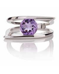 Manja | Purple Romance Amethyst Ring | Lyst