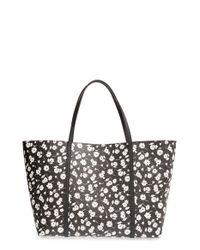 Dolce & Gabbana | Black 'miss Escape' Floral Tote | Lyst
