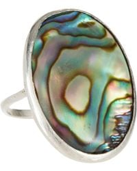 Suzannah Wainhouse Jewelry - Blue Abalone Silver Ring - Lyst