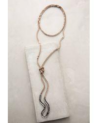 Anthropologie | Metallic Headlands Layer Necklace | Lyst
