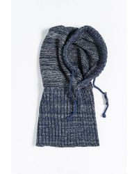 Bickley + Mitchell | Blue X Uo Hooded Scarf for Men | Lyst