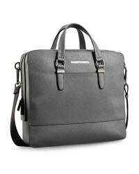 Calvin Klein - Gray White Label Kiernan Square Commuter Bag for Men - Lyst
