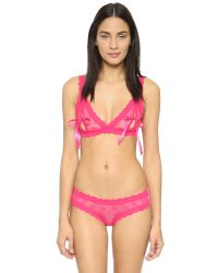 Hanky Panky - Pink After Midnight Hot Dot Open Gusset Hipster - Lyst