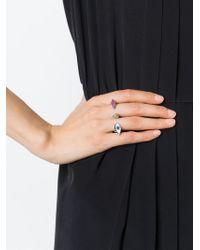 Delfina Delettrez | Metallic 'Polifemo' Ring | Lyst