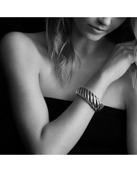 David Yurman | Metallic Waverly Bracelet, 25mm | Lyst