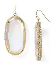 Kendra Scott - Metallic Deily Drop Earrings - Lyst