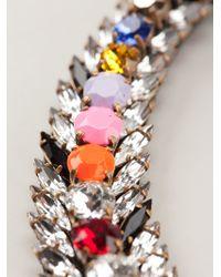 Shourouk | Multicolor 'piuma' Necklace | Lyst
