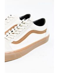 Vans - Natural Old Skool Gumsole Sneaker for Men - Lyst