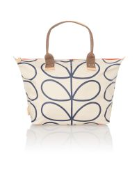 Orla Kiely | Multicolor Stem Print Neutral Tote Bag | Lyst