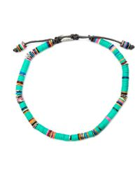 M. Cohen | Multicolor Beaded Bracelet for Men | Lyst