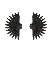 Lulu Frost | Black Beacon Earrings | Lyst