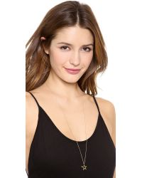 Gabriela Artigas | Metallic Cutout Shooting Star Necklace - Gold | Lyst