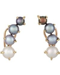 Ana Khouri | Gray Women's Patricia Earrings | Lyst