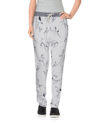 Maison Scotch | Gray Casual Trouser | Lyst