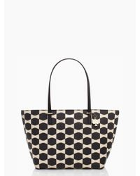 kate spade new york - Black Bow Tile Small Harmony - Lyst