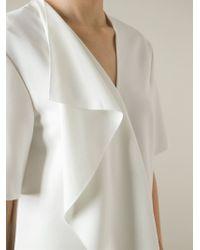 Alexander Wang - White Ruffled Mini Dress - Lyst