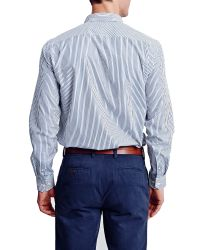 Thomas Pink | Blue Keane Stripe Classic Fit Shirt for Men | Lyst