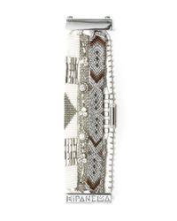 Joie | White Hipanema Pearl Bracelet | Lyst