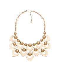 Trina Turk | Metallic Frontal Drama Necklace | Lyst