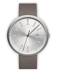 Uniform Wares | Gray Rubber Strap Watch for Men | Lyst
