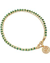 Astley Clarke | Green Emerald Aura 14ct Gold | Lyst