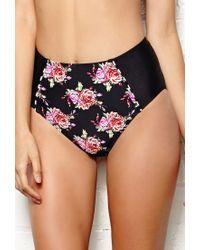 Forever 21 - Multicolor Glam Suite Highwaisted Bikini Bottom - Lyst