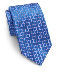 Saks Fifth Avenue | Blue Movement Dot Silk Tie for Men | Lyst