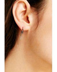 Adina Reyter   Metallic Lightning Bolt Ear Climber Earring   Lyst