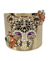 Class Roberto Cavalli | Metallic Bracelet | Lyst