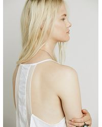 Free People | White Intimately Womens Heartbeat Cami | Lyst
