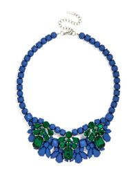 BaubleBar - Blue Vineyard Gem Bib - Lyst