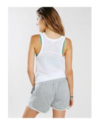 First Base - Gray Sweat Short - Lyst
